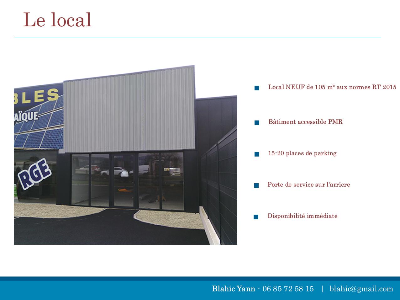 local bureau a louer RN 12 saint agathon src=